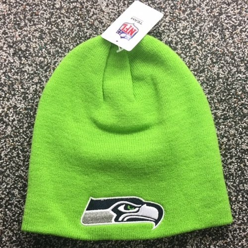 Seattle Seahawks - VISA ACTION GREEN BEANIE