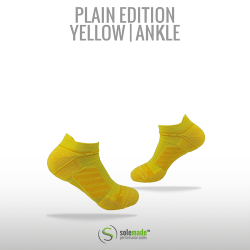 Plain Yellow | Ankle | Adult