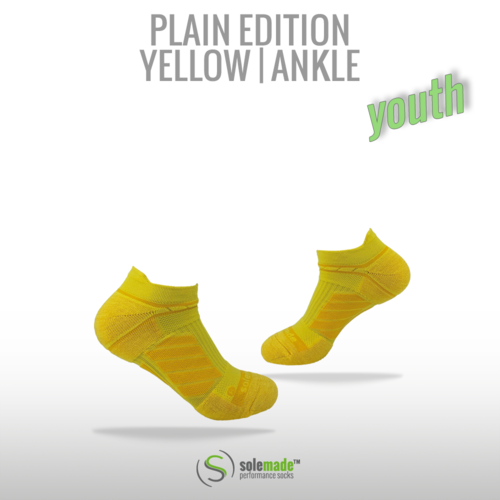 Plain Yellow | Ankle | Youth