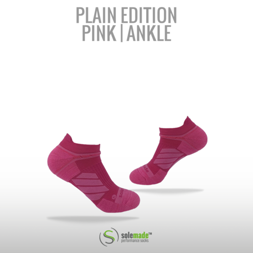 Plain Pink | Ankle | Adult