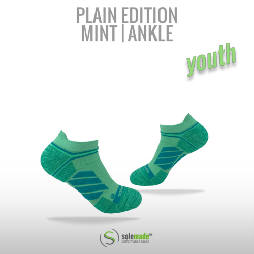 Plain Mint | Ankle | Youth