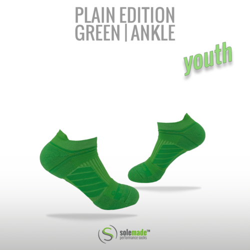 Plain Green | Ankle | Youth