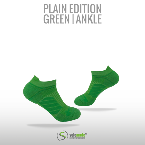 Plain Green | Ankle | Adult